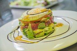 Nuestras ensaladas, platos estrella de la casa!!