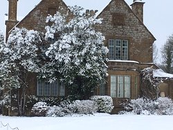 Laverstock House in the snow Feb 2019
