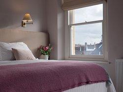 Our luxuriously furnished guest bedrooms above the restaurant offer the perfect accommodation to explore Frome and all the nearby attractions such as Longleat Safari Park, Hauser & Wirth in Bruton or Stourhead National Trust estate.
