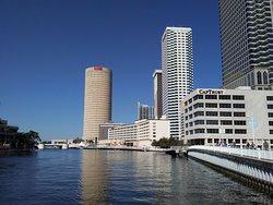 Tampa Riverwalk.