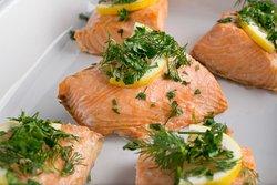 Herb Salmon Filet