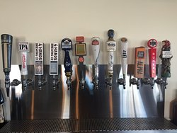 24 beers on tap and over 80 beers in total!