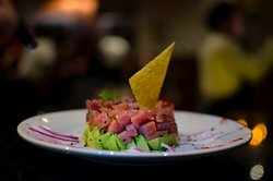 Una deliciosa tártara de atún.