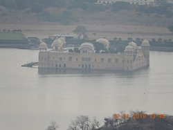 jal mahal from jaigarh fort