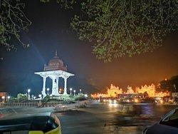 Statue of Maharaja Chamarajendar Wodeyar