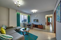 Two Bedroom Apartments Sea View - Living Room
