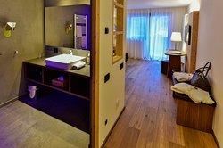 Bagno Suite Euringer 304 con vista montagna e stanza separta per bambino