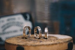 So fun making our own rings
