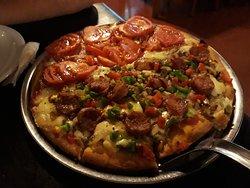pizza calabresa y pepperoni