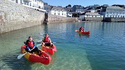 St Mawes Sit on Kayaks