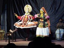 Kathakali traditional dance at Thekkady