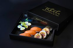 Our take out sushi box, you can enjoy it wherever you want!