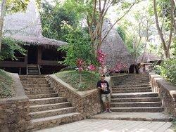Traditional House at Taman Nusa