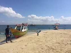 boats for snorkelling pink beach