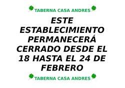 Taberna Casa Andres
