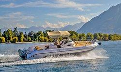 Motorboot, Vermietung, Ranieri Shadow 26, Ascona, Lago Maggiore