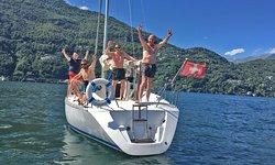 Segeln am Lago Maggiore