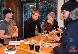 Enjoy 16 of BC's best Craft Beers over 4 of Whistler's most iconic locations.