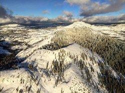Winter flights over the Sierra Nevada Foothills