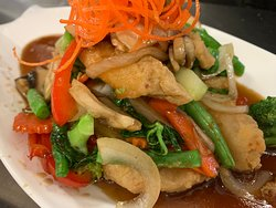Our Chef's Special: Mixed Seafood with Chilli