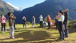 Outdoor Yoga Session @ Annapurna Region