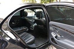 Mercedes-Benz S-Class back seat