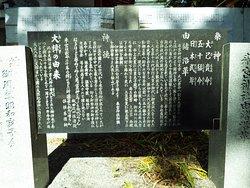 此処にも来宮神社の祭神、由緒沿革、神徳、大楠の由来などの説明看板が有りまhした。