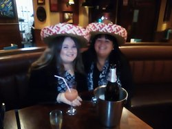 Great Night  ,wearing the Mexican Hats  :)