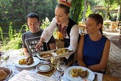 Konavoski Dvori National Restaurant (Ljuta, Konavle, Cavtat, Dubrovnik, Croatia)