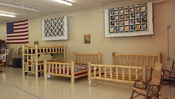 Locally Amish Made Furniture and Quilts