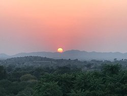 Sunset view from Deogarh Hills