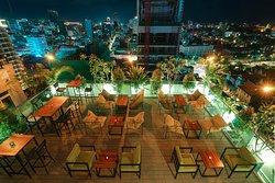 Our Amigo Restaurant & Sky Bar.