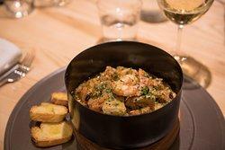 la nostra zuppa di mare - our fresh sea soup