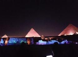 Pyramids show