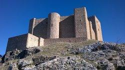 Panorámica del castillo de Segura