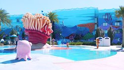 The big Blue Pool