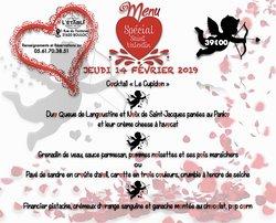 Menu Saint-Valentin 2019