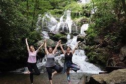 See waterfalls