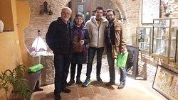 Madrileños y franceses conociendo nuestro subterráneo, mil gracias y hasta pronto :) .