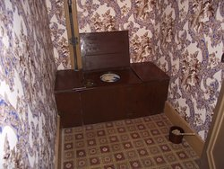 CANADA - HAMILTON - DUNDURN CASTLE #6 - INDOOR VERSION OF AN OUTHOUSE