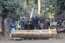 Chitwan national park, wildlife safari Management team