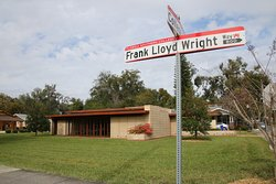 Easily found on the renamed Frank Lloyd Wright Way, just a couple minutes south of downtown Lakeland.