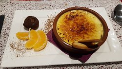 Crème Brûlée au Marsala