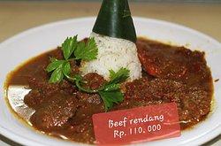 """Amazing local food """"Beef Rendang"""""""