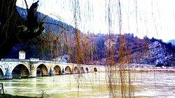 Winter view of the bridge