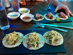 Yummy tacos - enough for a meal with a shared app