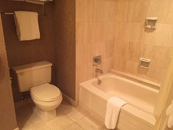 Sparkling clean, spacious room, great location, next door to Convention Center