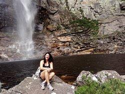 Área da cachoeira