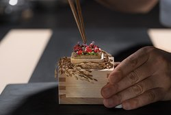 Mind Blowing Foie Gras Monaka - Layers of complexities but perfectly balanced by Head Chef Ryota Kanesawa.