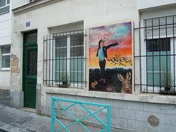 Fresque Femme Lapine